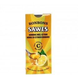 Sawes Bonbon Miel-Citron Sans sucre 10 Pièces