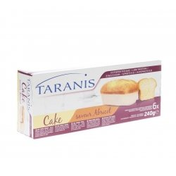 Taranis mini cake abricot 240g (6 pieces) 4656