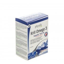 Physalis krill omega 3 caps 60