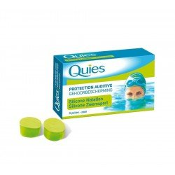 Quies protection auditive natation maxi sil.3paire