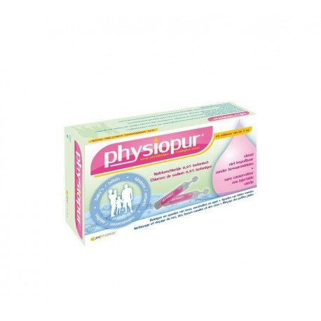 Physiopur serum physiologique bb-enf-ad 40 doses