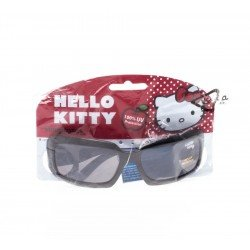 Hello kitty lunettes solaires carrees noires