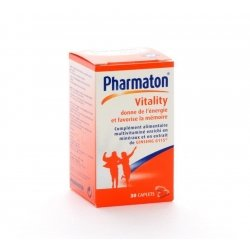 Pharmaton vitality caplets 30 nf