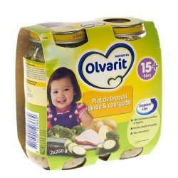 Olvarit plat broccoli-dinde 2x250g 568882
