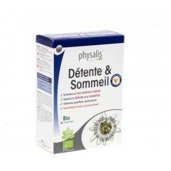 Physalis Relax & Sleep Bio - troubles du sommeil 45 tablettes