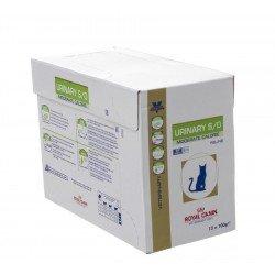 Vdiet urinary mod cal feline pouch 12x100g