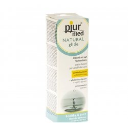 Pjur med natural glide lubrifiant 100ml