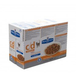 Hills prescrip.diet feline cd salmon 12x85g 1882m