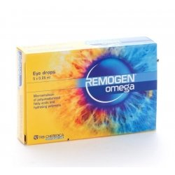 Remogen Omega Eye drops Gouttes 20x0,25ml