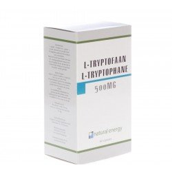 L-tryptophane natural energy 500mg    caps 60