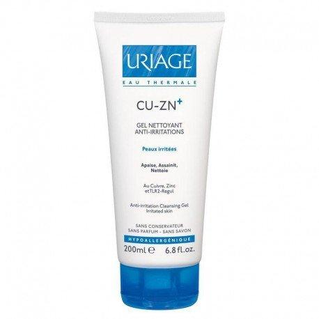 Uriage Cu-zn+ gel nettoyant flacon 200ml