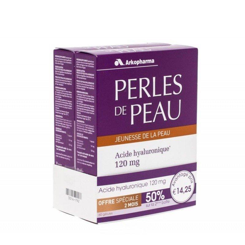 arkopharma perles de peau acide hyaluronique 60caps promo 3014792 pharmasimple. Black Bedroom Furniture Sets. Home Design Ideas