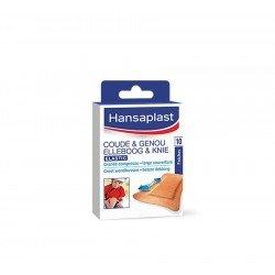 Hansaplast elastic coude&genou patch 10