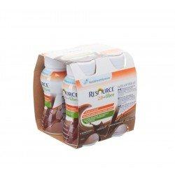 Resource 2.0 fibre chocolat 4x200ml 12209495