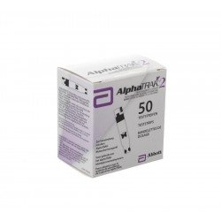 Alphatrak controle glycemie bandelettes 50