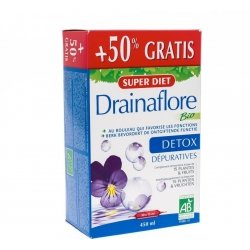 Super diet drainaflore bio +50% amp 30x15ml
