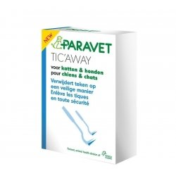 Paravet tic away chat-chien crochet 2