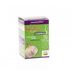 Mannavital kyolic + co-enzym q10 caps  60