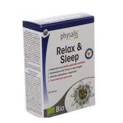 Physalis Relax & Sleep Bio - troubles du sommeil 45 comprimés