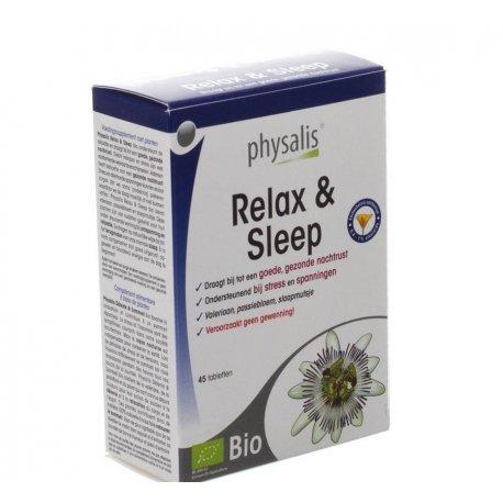 Physalis relax & sleep bio new tabl 45