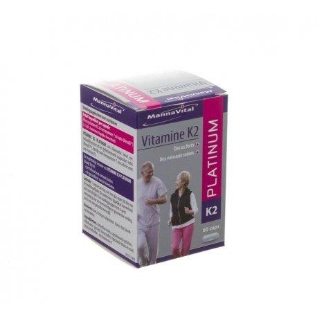Mannavital vitamine k2 platinum caps 60