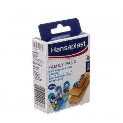 Hansaplast family pack strips 40