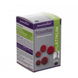 Mannavita astaxanthine platinum caps 60