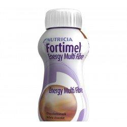 Fortimel energy multi fibre chocolat 4x200ml