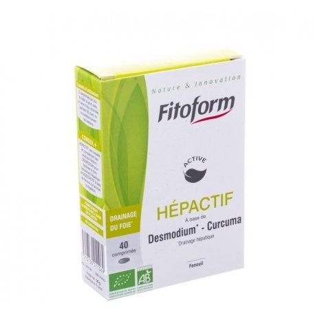 Fitoform Hepactif comp 40 - Pharmasimple