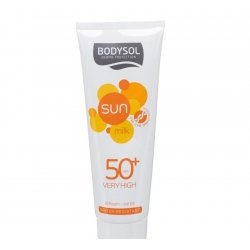 Bodysol sun milk ip50+ 250ml new