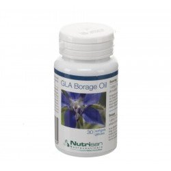 Gla borage oil softgels 30 nutrisan