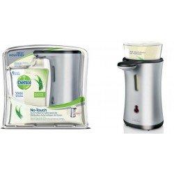 Dettol No Touch box silver gadget et Aloe Vera Recharge gratuite