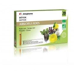 Arkofluides Détox bio unicadoses 20 x 15ml