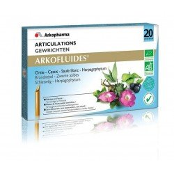 Arkofluides Articulations unicadoses 20