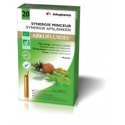 Arkofluides Synergie minceur amp 20 x 15ml