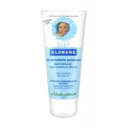 Klorane bebe lait toilette protecteur sans rinçage 200ml