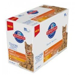 Hills science plan feline adult poultry 12x85g