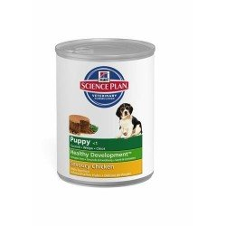 Hills science plan canine puppy chicken 370g