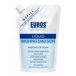 Eubos savon liquide bleu sans parfum recharge 400ml