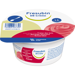 Fresubin db crème fraise bois 4 x 125g
