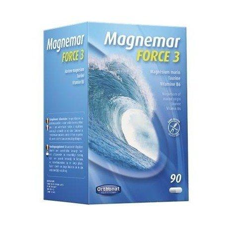 Magnemar force 3 gelules 90 orthonat