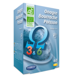 Onagre bourrache poisson orthonat 60 gélules
