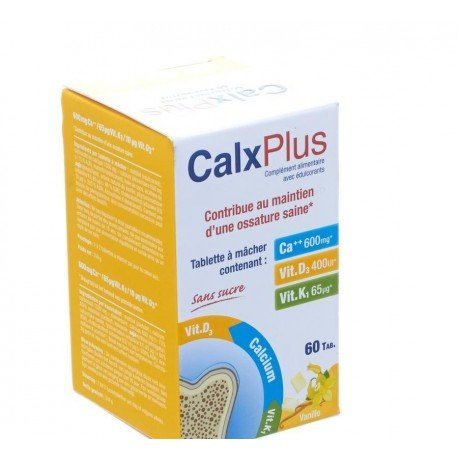 Calxx laboratories plus vanille 60 tablettes