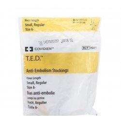 T.e.d. - kendall bas anti-embolie s regular blanc/jaune k70711