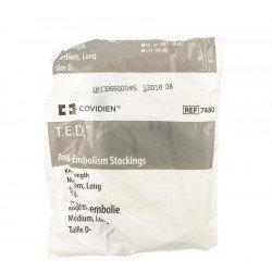 T.e.d. -kendall bas anti-embolie m xlong blanc/blanc k74801
