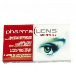 Pharmalens lentilles de contact souple parametre 1 3 dioptrie -0.75