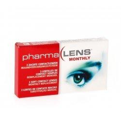 Pharmalens lentilles de contact parametre 44 3 dioptrie +7.5