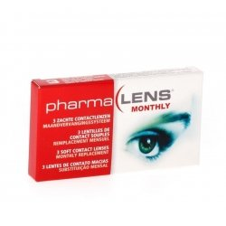 Pharmalens lentilles de contact parametre 13 3 dioptrie -3.75