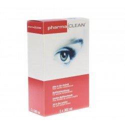 Pharmalens lentilles de contact emballage 3 mois(2x360ml+etui)