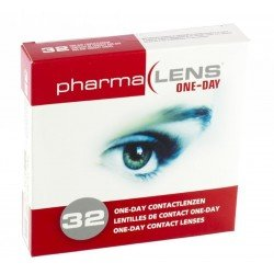 Pharmalens lentilles de contact one day souple 32-4